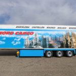 Lamberet SR2 Greenliner in multi-temp uitvoering voorzien van tweede laadvloer