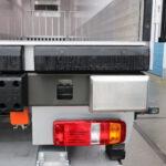WABCO tailguard weggewerkt in het chassis